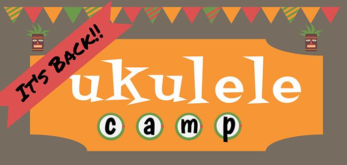 2018 Ukulele Camp logo