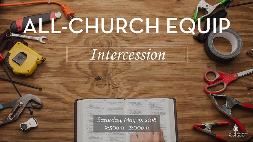 All-Church Equip: Intercession logo