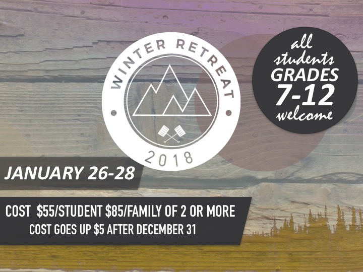 Winter Retreat 2018 logo