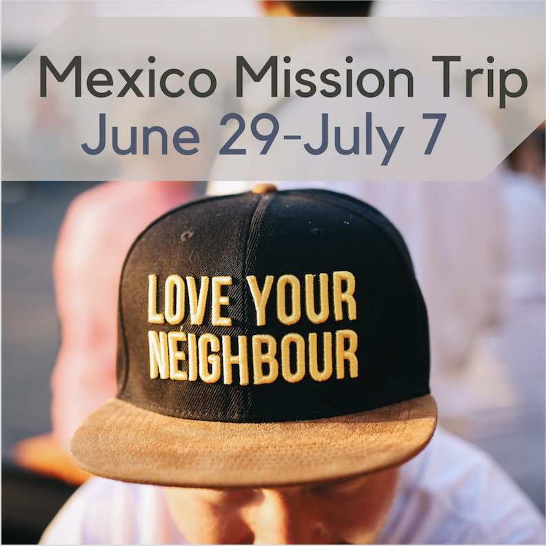 Mexico Mission Trip 2019 logo