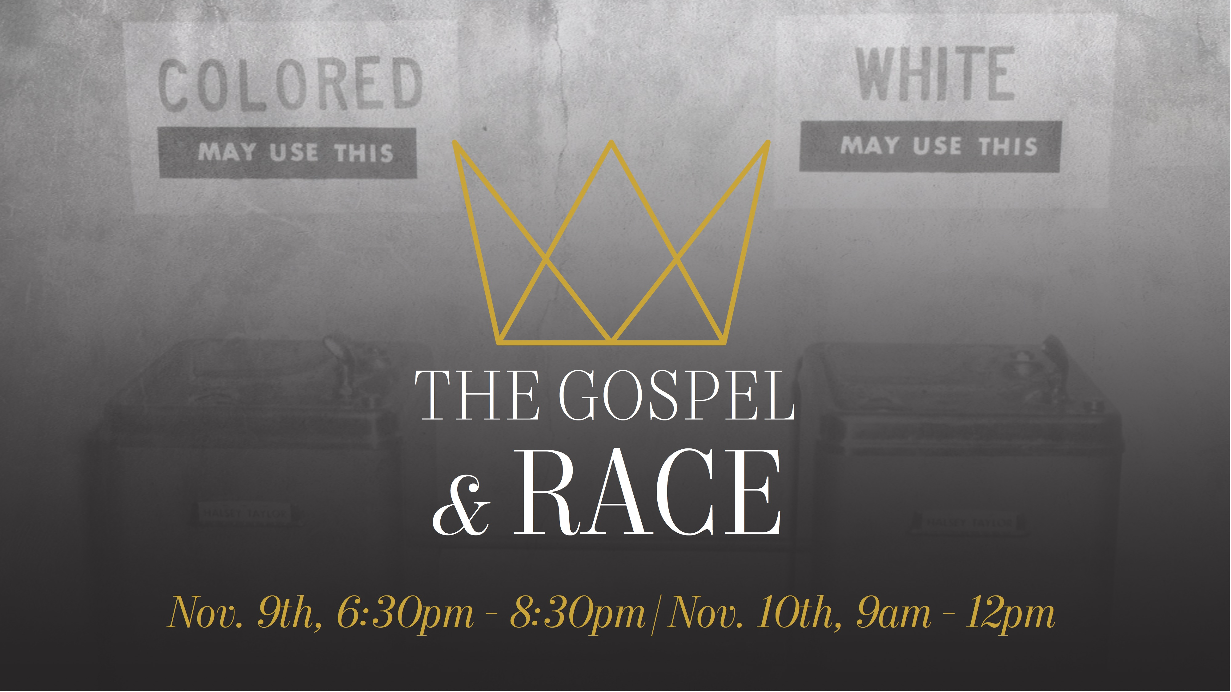 The Gospel & Race logo