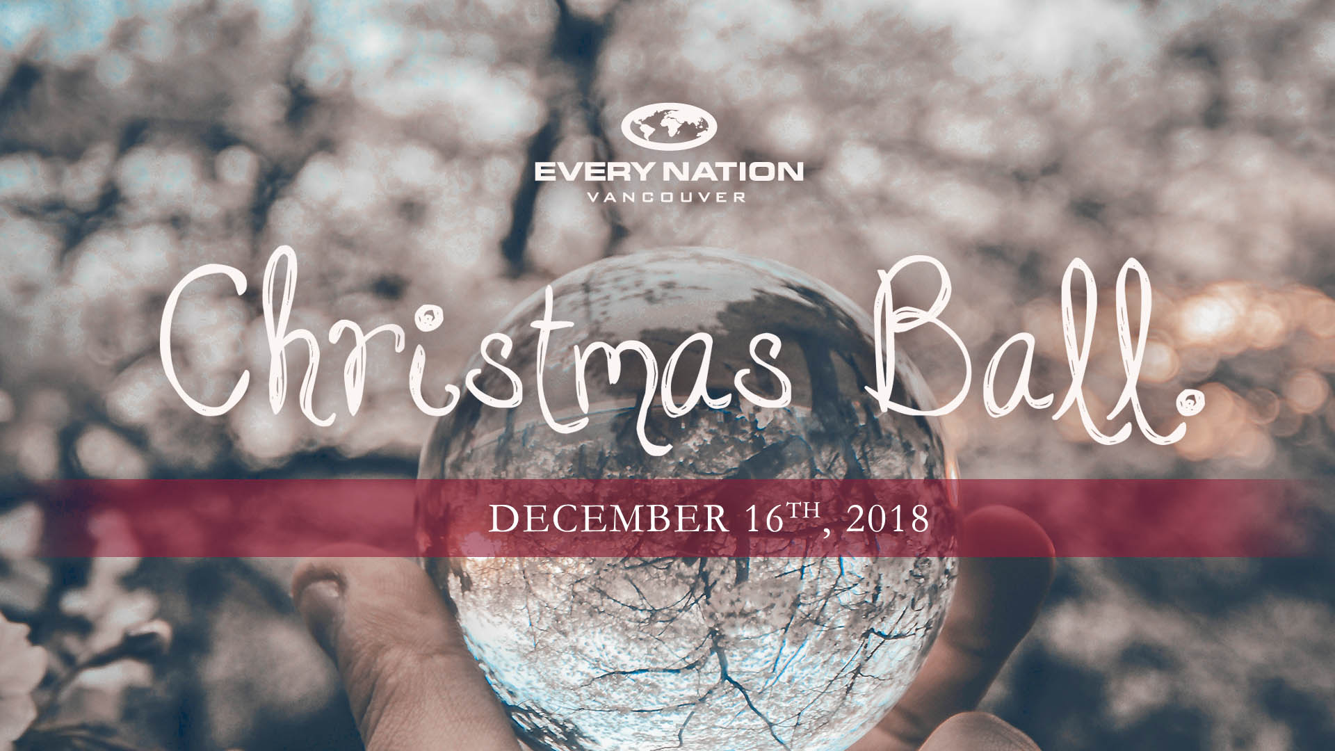 The ENV Christmas Ball logo