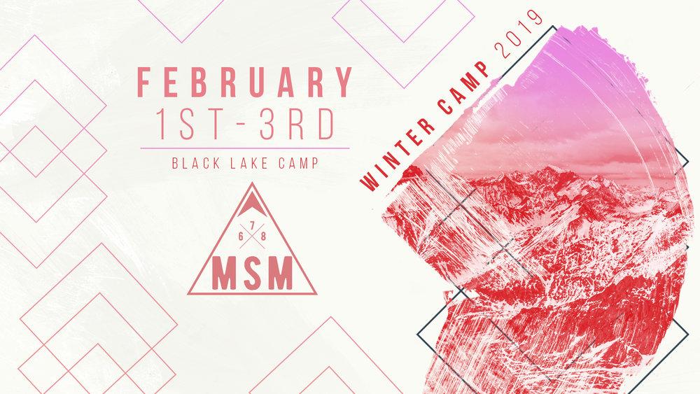 MSM Winter Camp logo