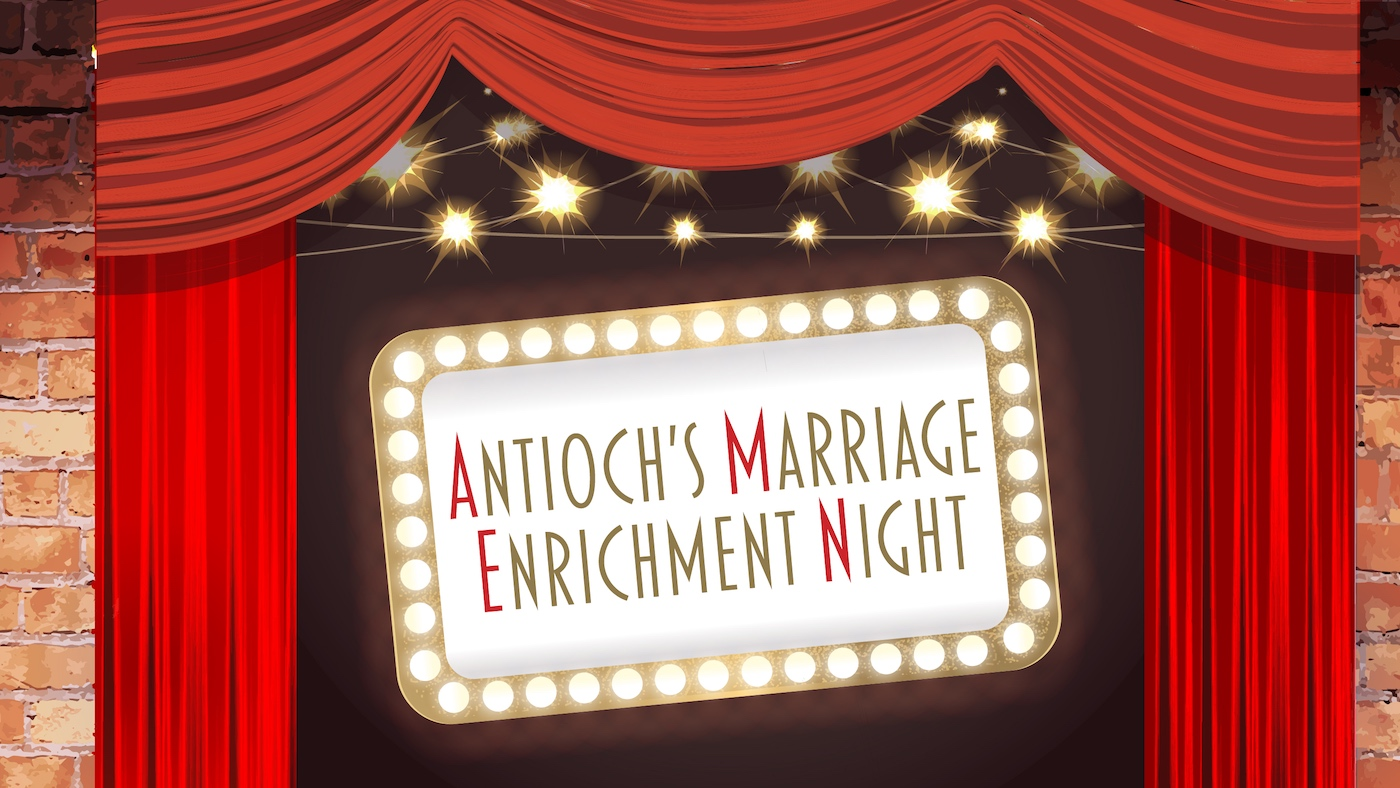 2018 'AMEN' - Antioch's Marriage Enrichment Night logo