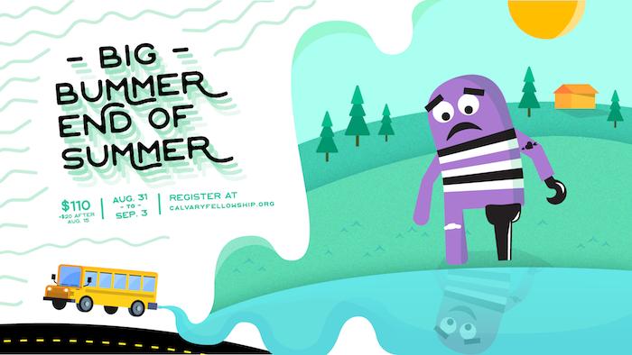 Big Bummer End of Summer 2018 logo