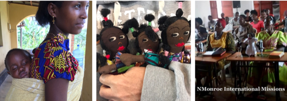 Dolls on a Mission logo