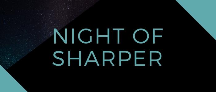 Night of Sharper logo