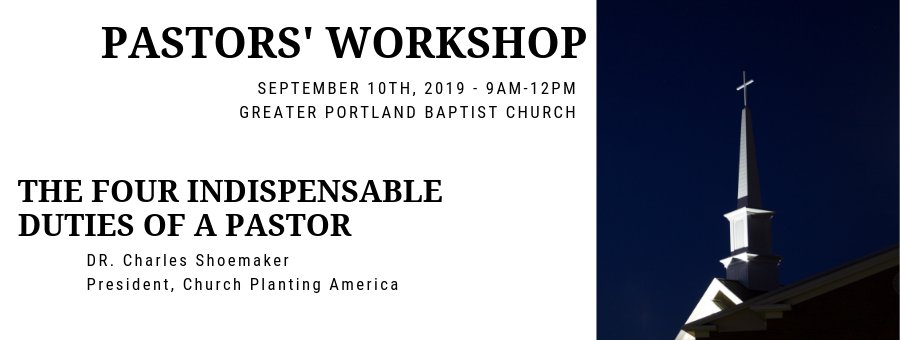 2019 GPBC Pastors' Workshop logo