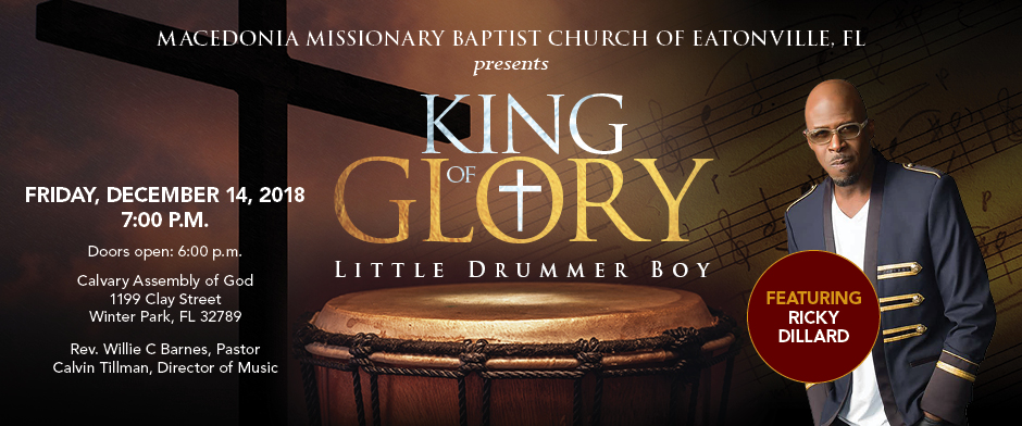 King of Glory Concert 2018 logo