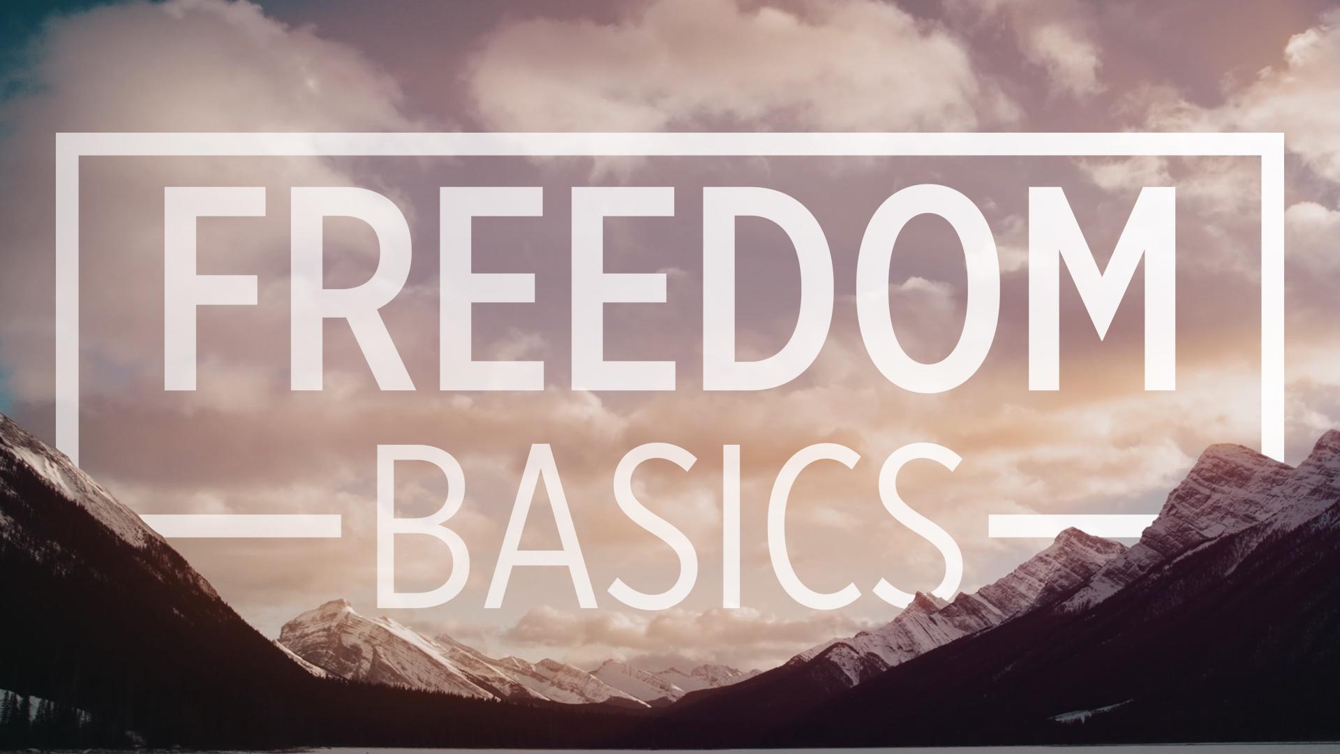 Freedom Basics Series - 4 Classes beginning Sunday Jan 6 at 9:00 am logo