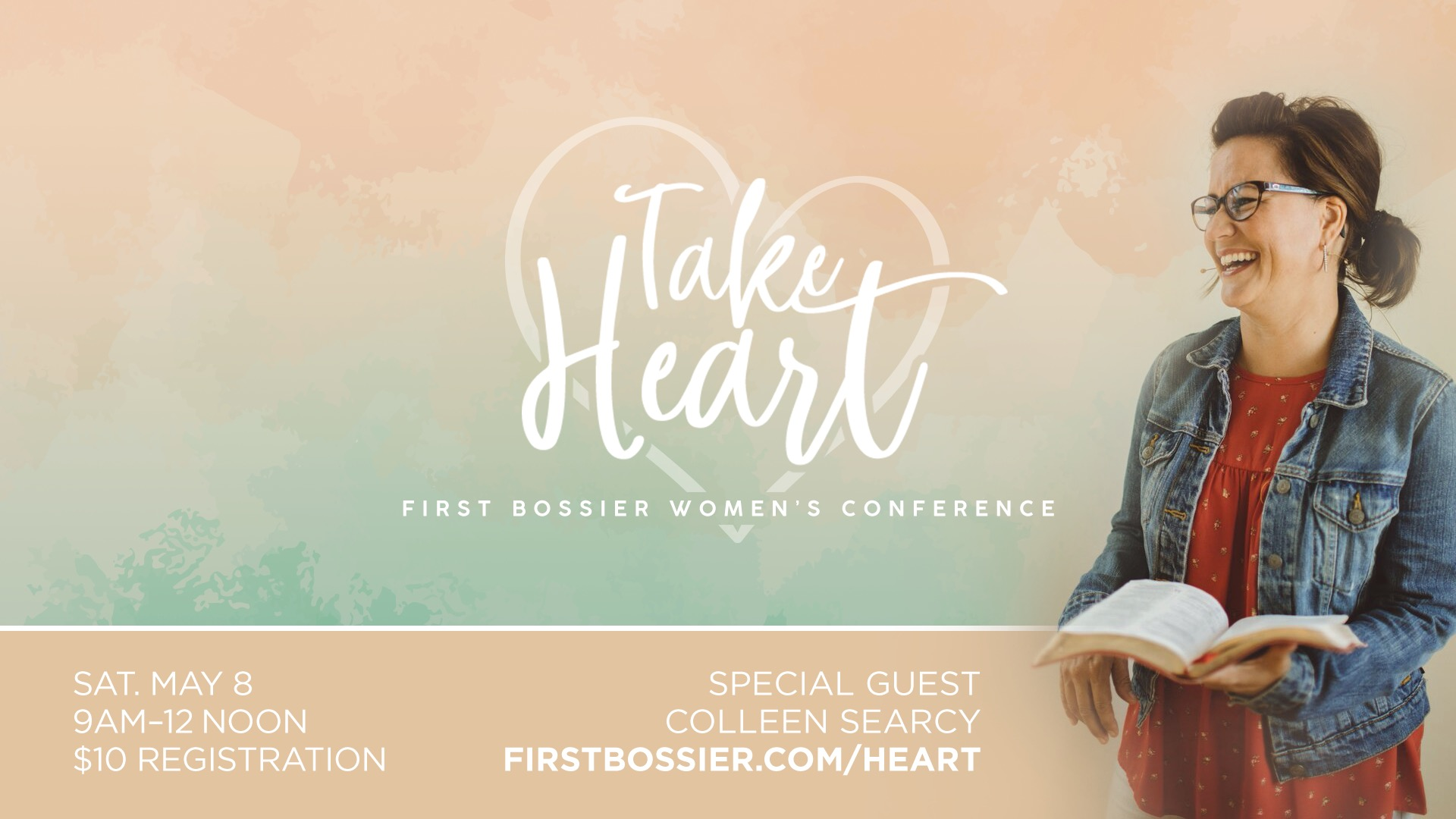 Take Heart Women's Conference logo