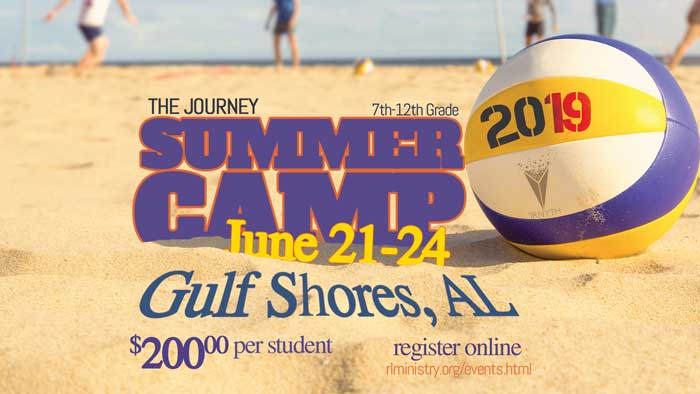 The Journey Thrive Summer Youth Camp 2019 logo