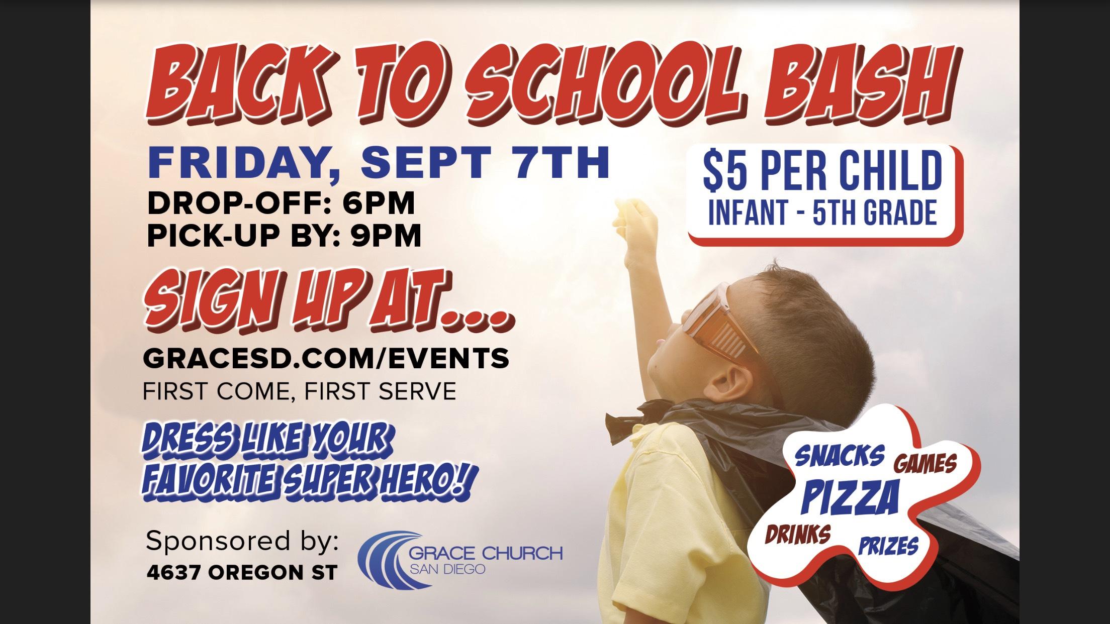 Back to School Bash / Date Night logo