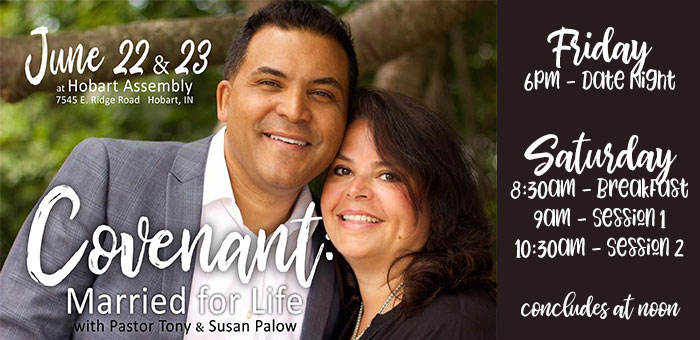 Married for Life Date Night w/ Tony & Susan Palow logo