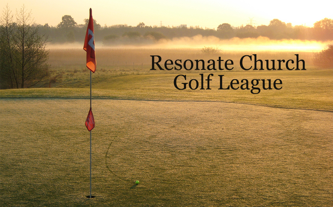 Resonate's Tuesday Night Golf League logo
