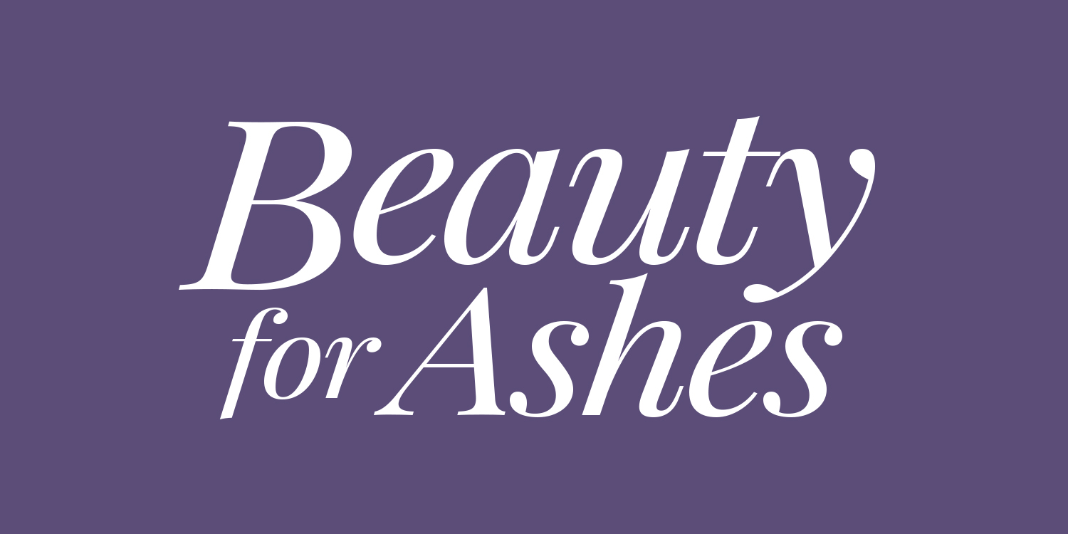 Beauty For Ashes I logo