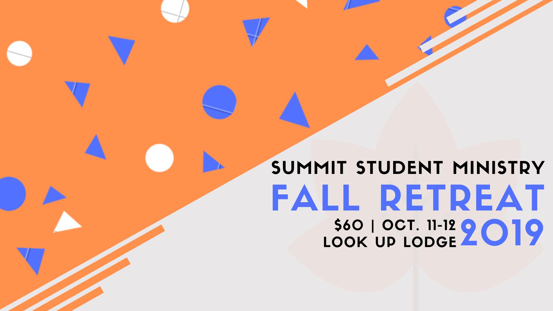 S2M Fall Retreat 2019 logo