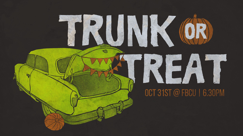 Trunk or Treat Vehicle Registration logo