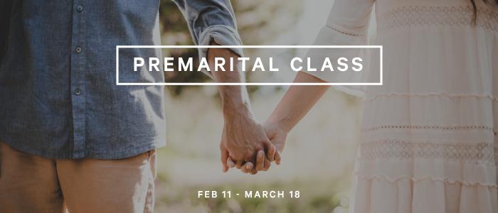 Premarital Class - Spring 2018 logo