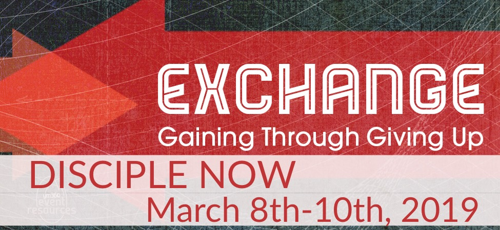 """DNOW 2019: """"Exchange"""" logo"""