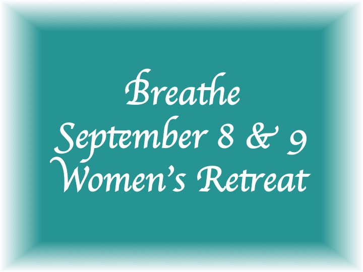 Women's Retreat - Breathe logo