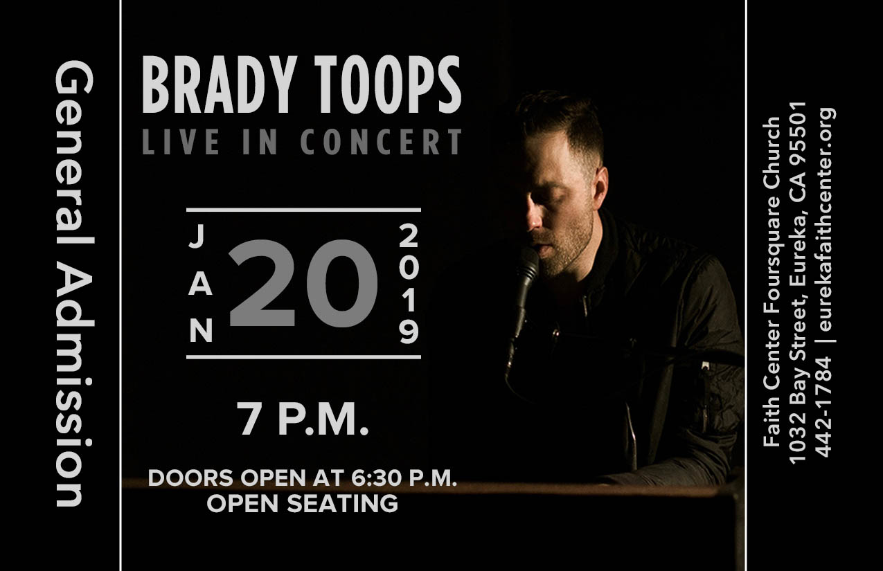 Brady Toops Concert logo