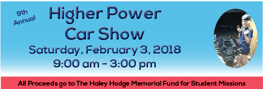 Higher Power Car Show logo