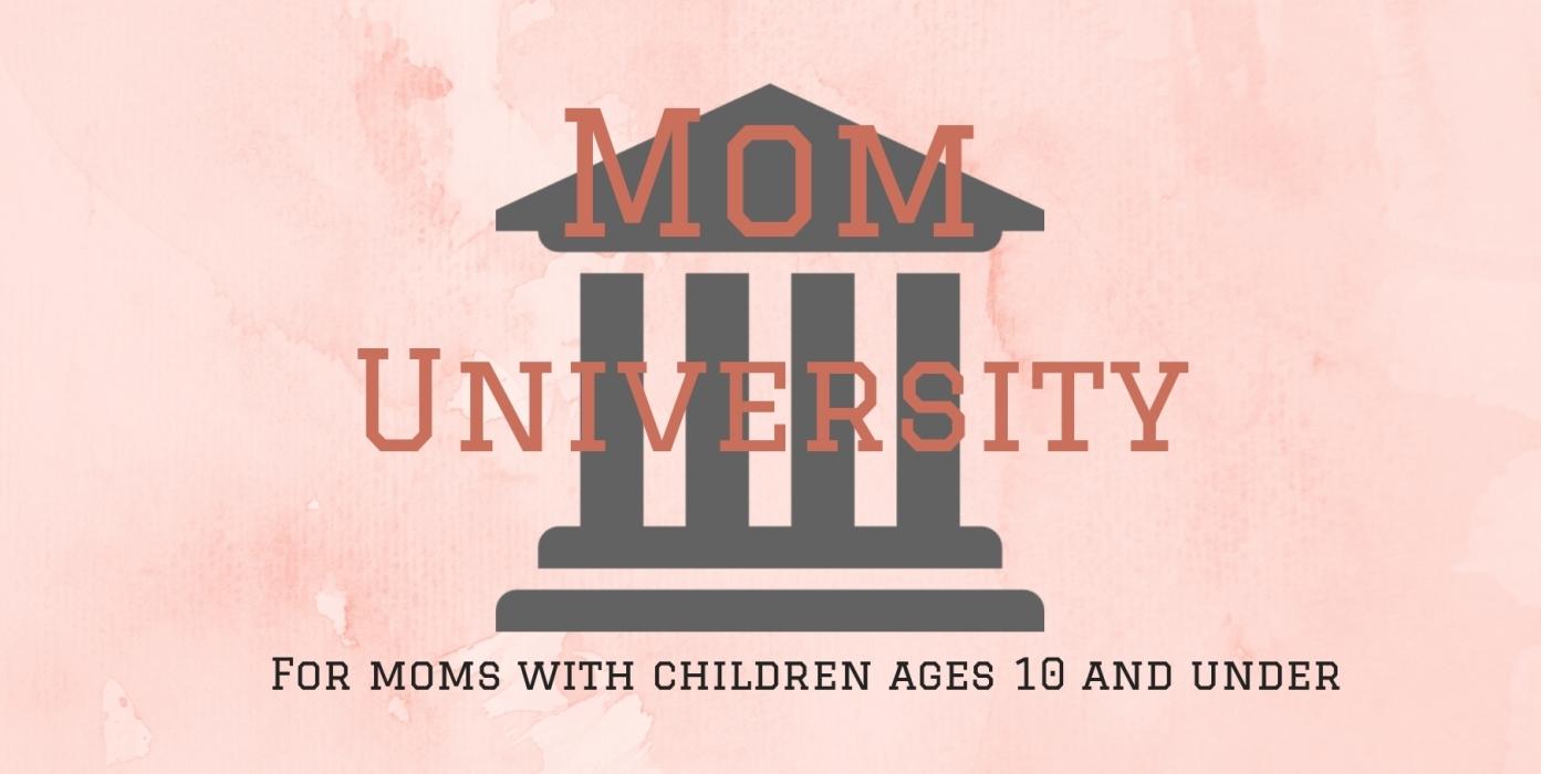 Mom University 2019 logo