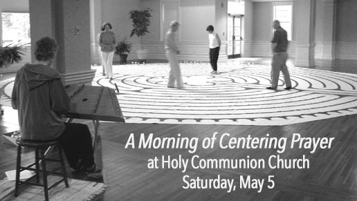 Morning of Centering Prayer logo