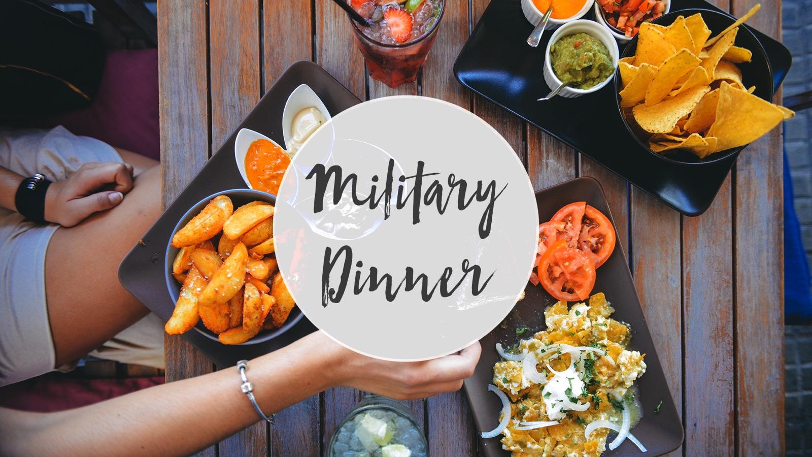 Military Family Dinner logo