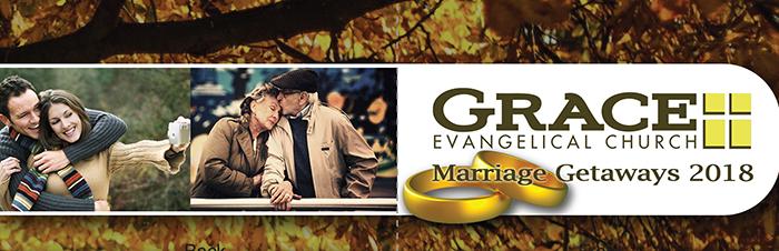 Grace Evangelical's Marriage Getaways 2018 logo