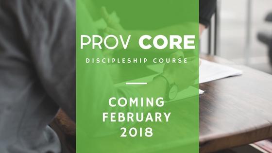ProvCore Discipleship Course logo