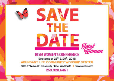 2018 RISE! ALCWC Women's Conference logo