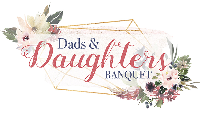Dad & Daughters Banquet logo