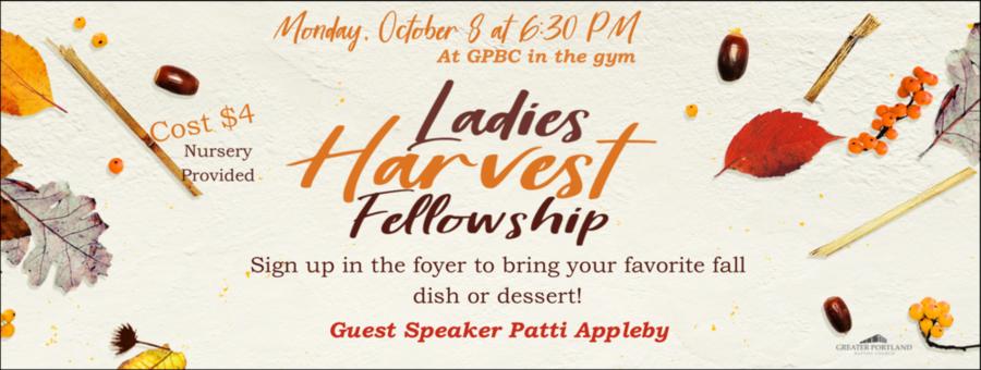 Ladies Harvest Fellowship logo