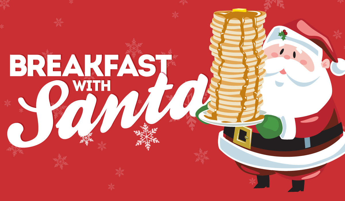 Sensory Friendly Breakfast with Santa 2018 logo