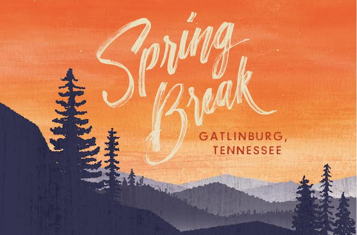 Campus House Spring Break logo