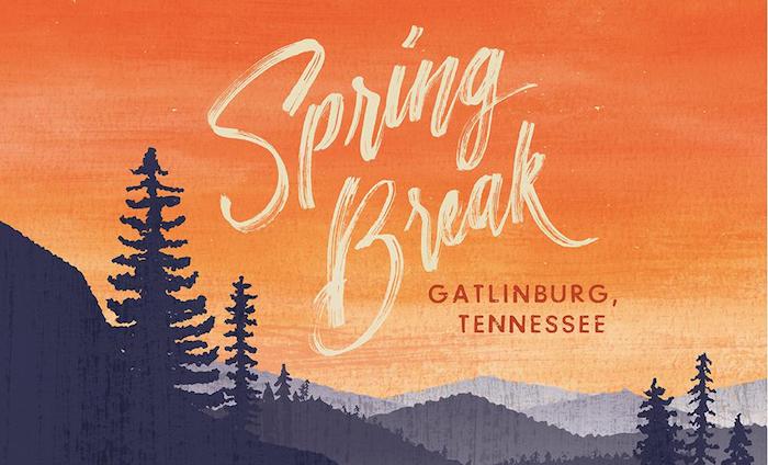Campus House Spring Break 2018 logo