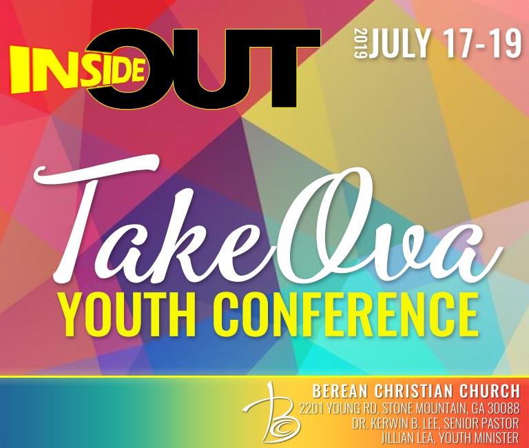 2019 TakeOva Youth Conference logo