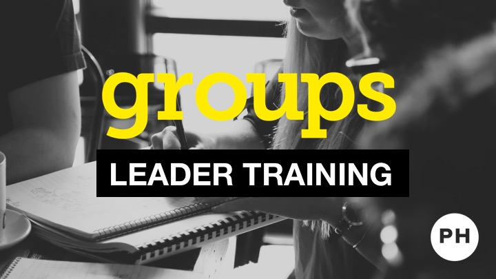 Group Leader Training - Fall 2017 logo