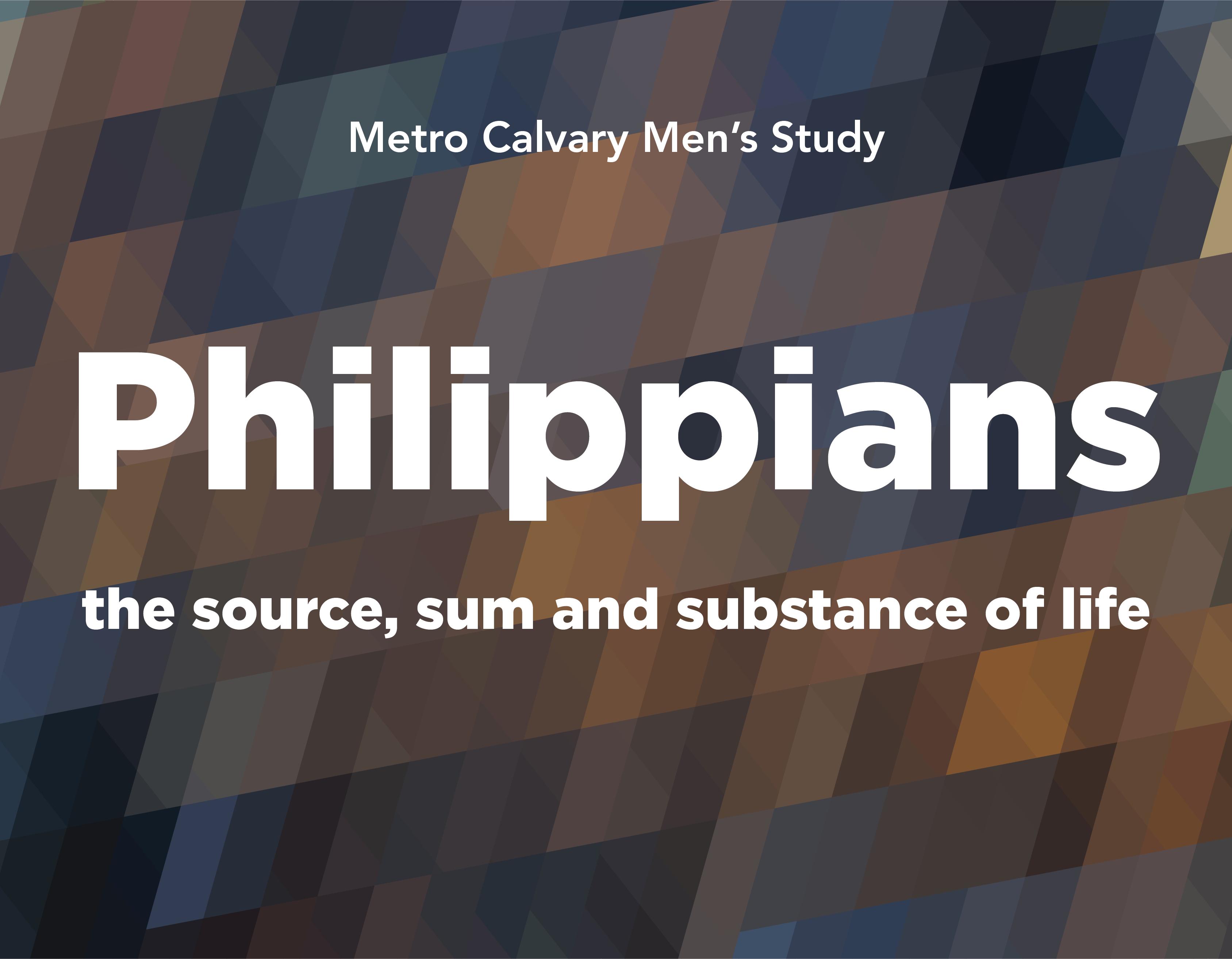 Men's Bible Study logo
