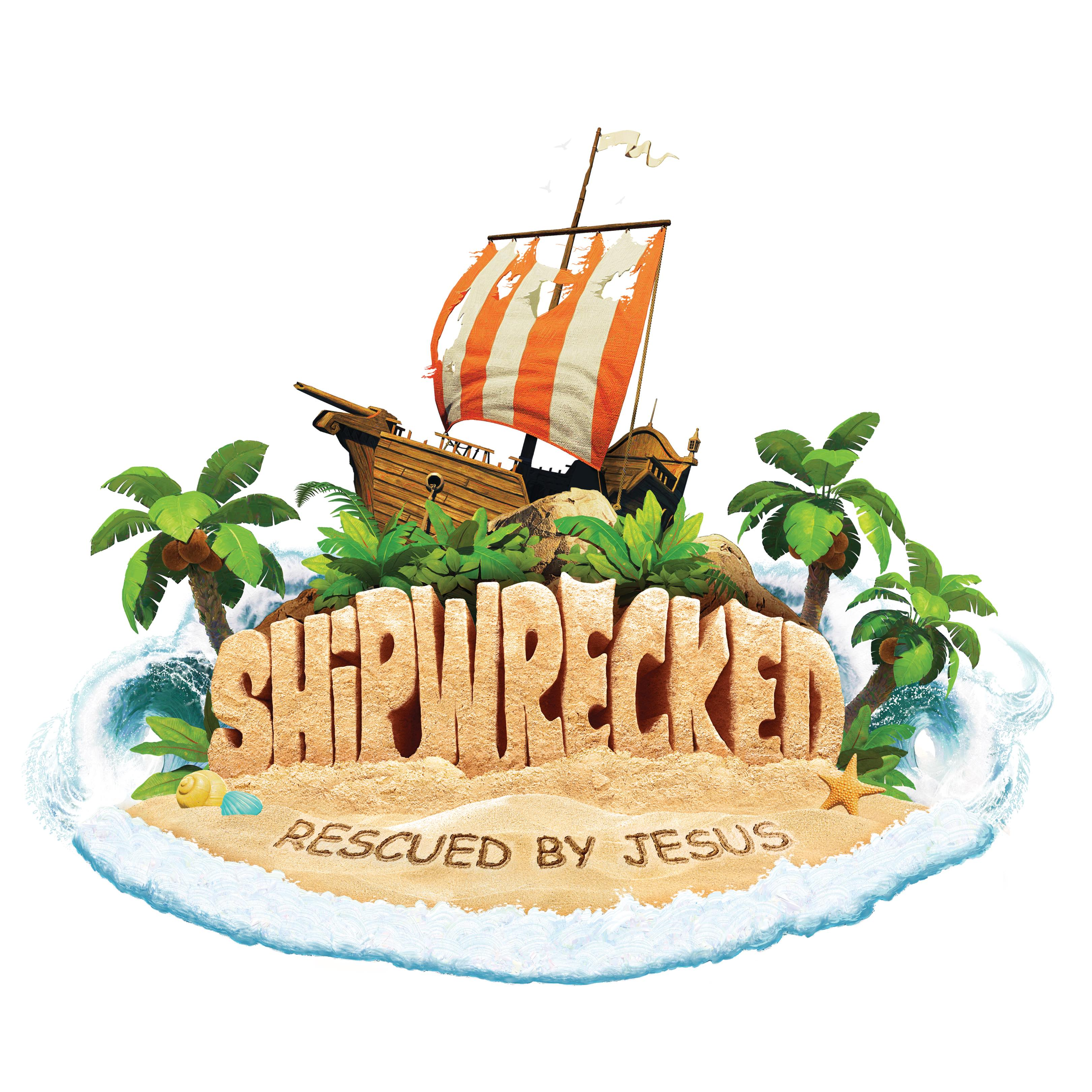 Children's VBS: Shipwrecked: Rescued By Jesus logo