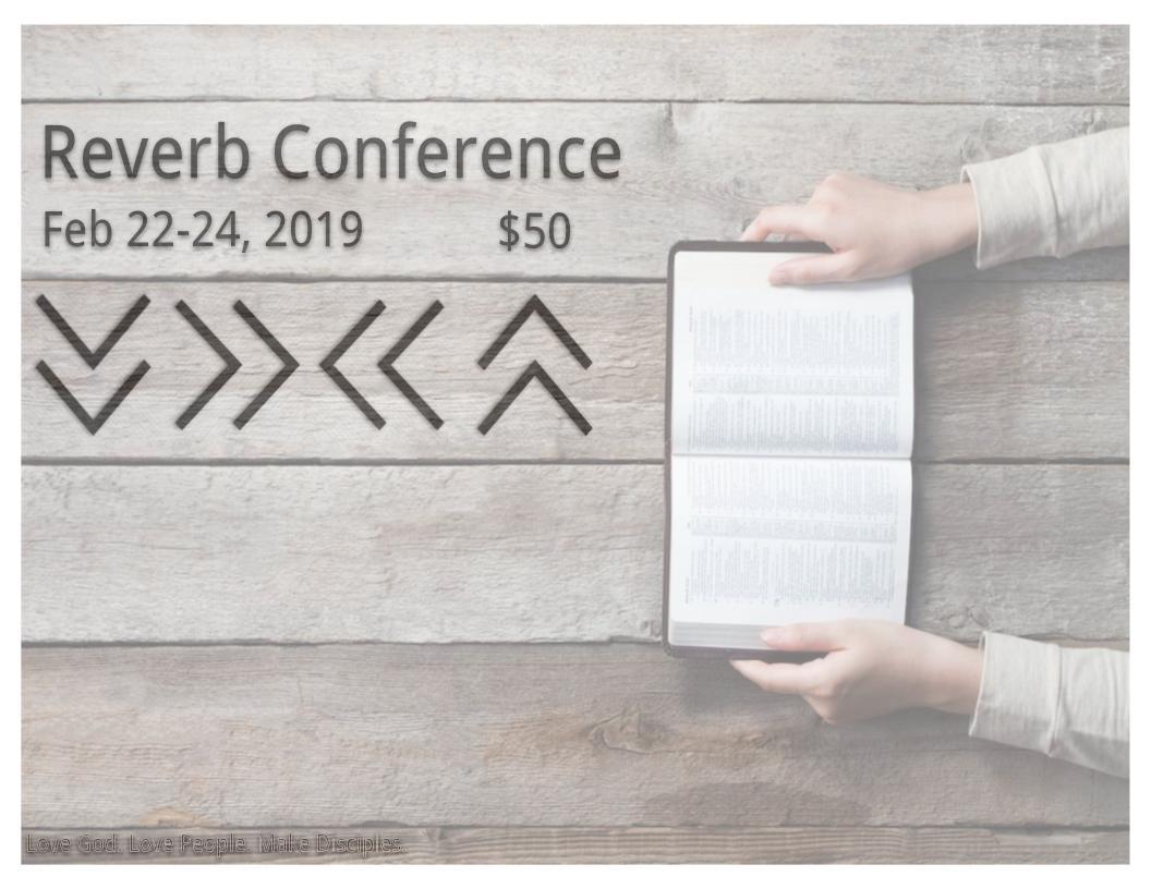 Reverb Weekend: Feb. 22-24, 2019 logo