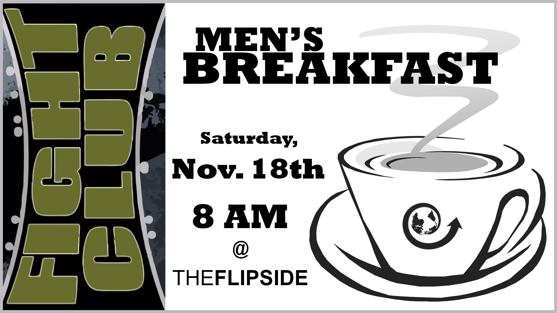Fight Club Men's Breakfast logo
