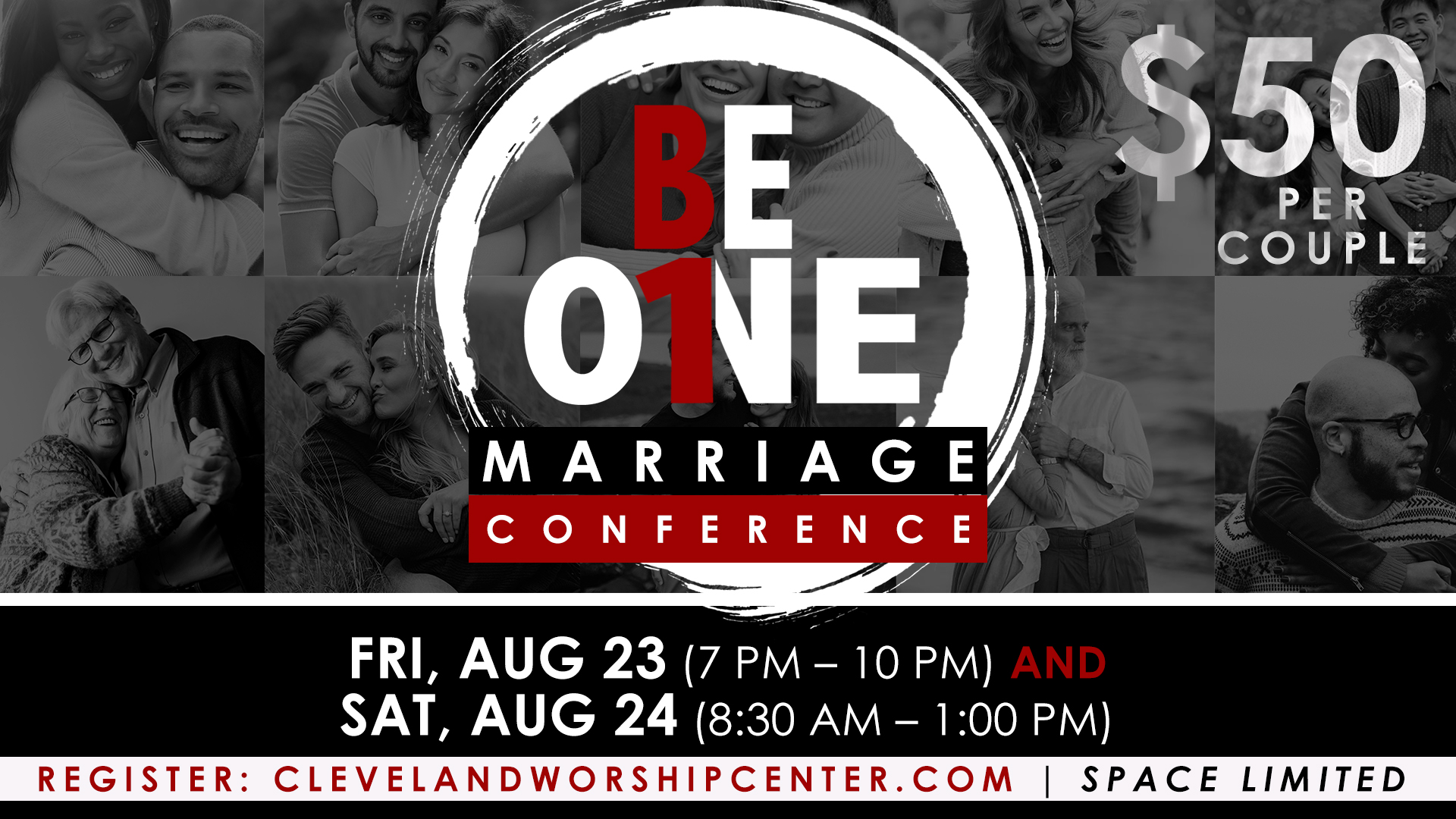 BeOne Marriage Conference 2019 logo