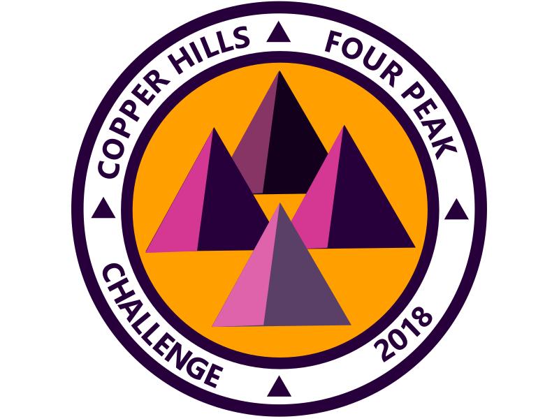 2018 CH 4PEAK CHALLENGE HIKER logo
