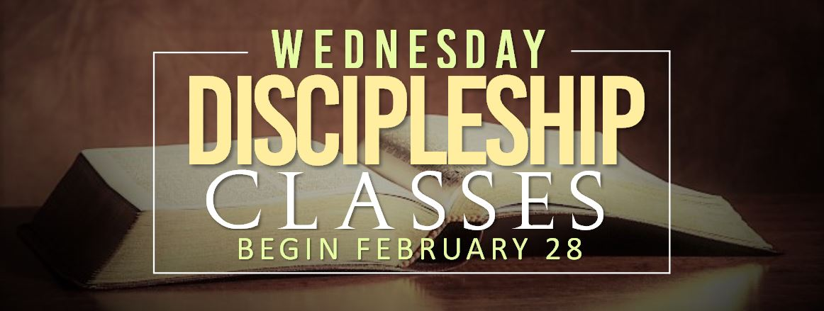 New Adult Discipleship Classes logo