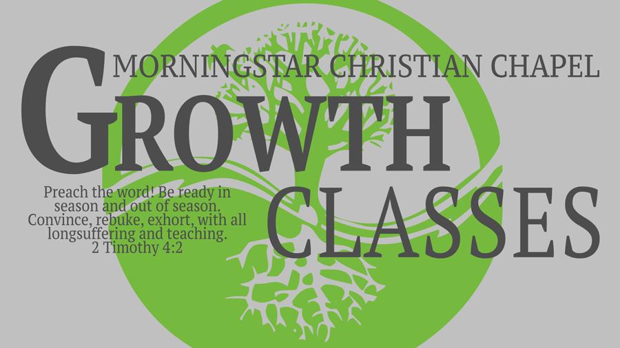 2019 Winter Growth Classes logo