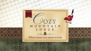 Cozy Mountain Lodge Women's Retreat logo