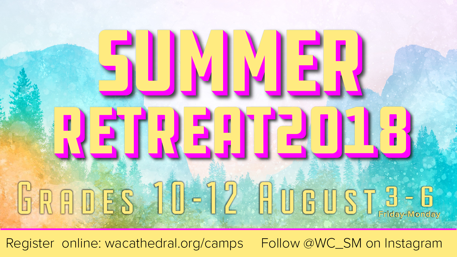 Summer Retreat logo
